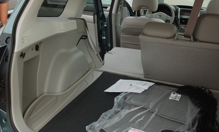 Forester fold-flat seats