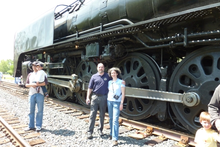 Chris and Bob by steam drive
